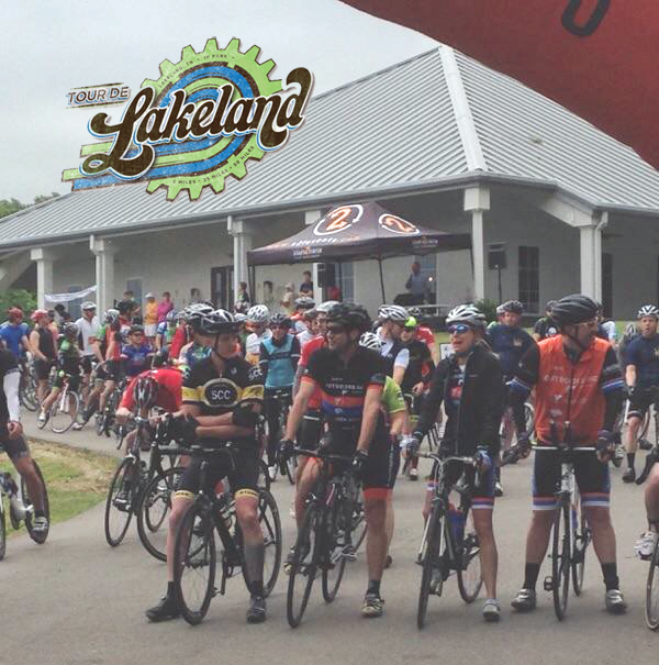 Bikers at Tour de Lakeland