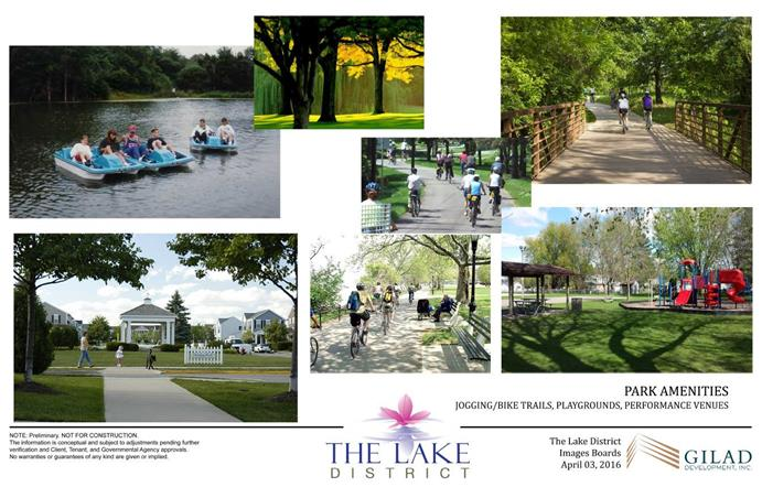 Collage of Park Amenities