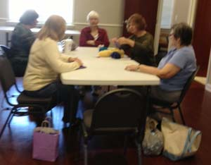 Sewing, Knitting, and Crocheting Class